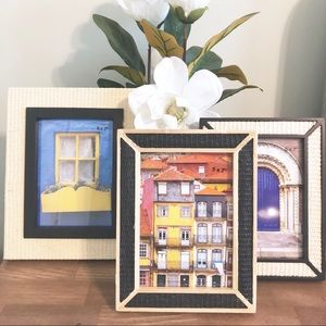 OPALHOUSE | Set Of 3 Boho 5x7 Picture Frames
